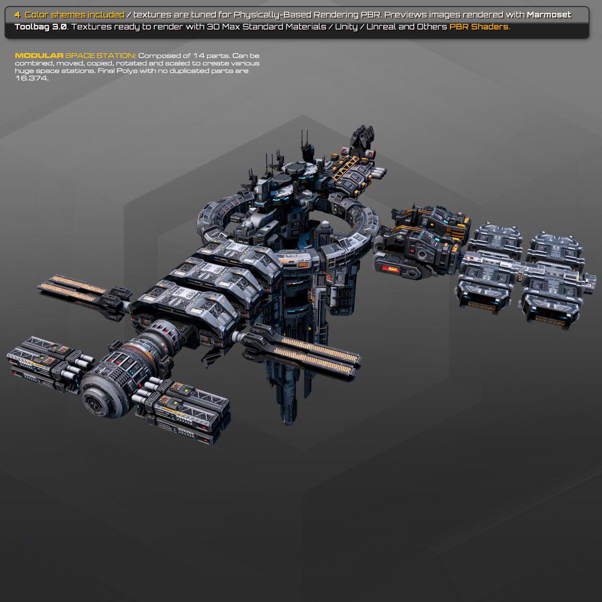 MODULAR Space Station MS2