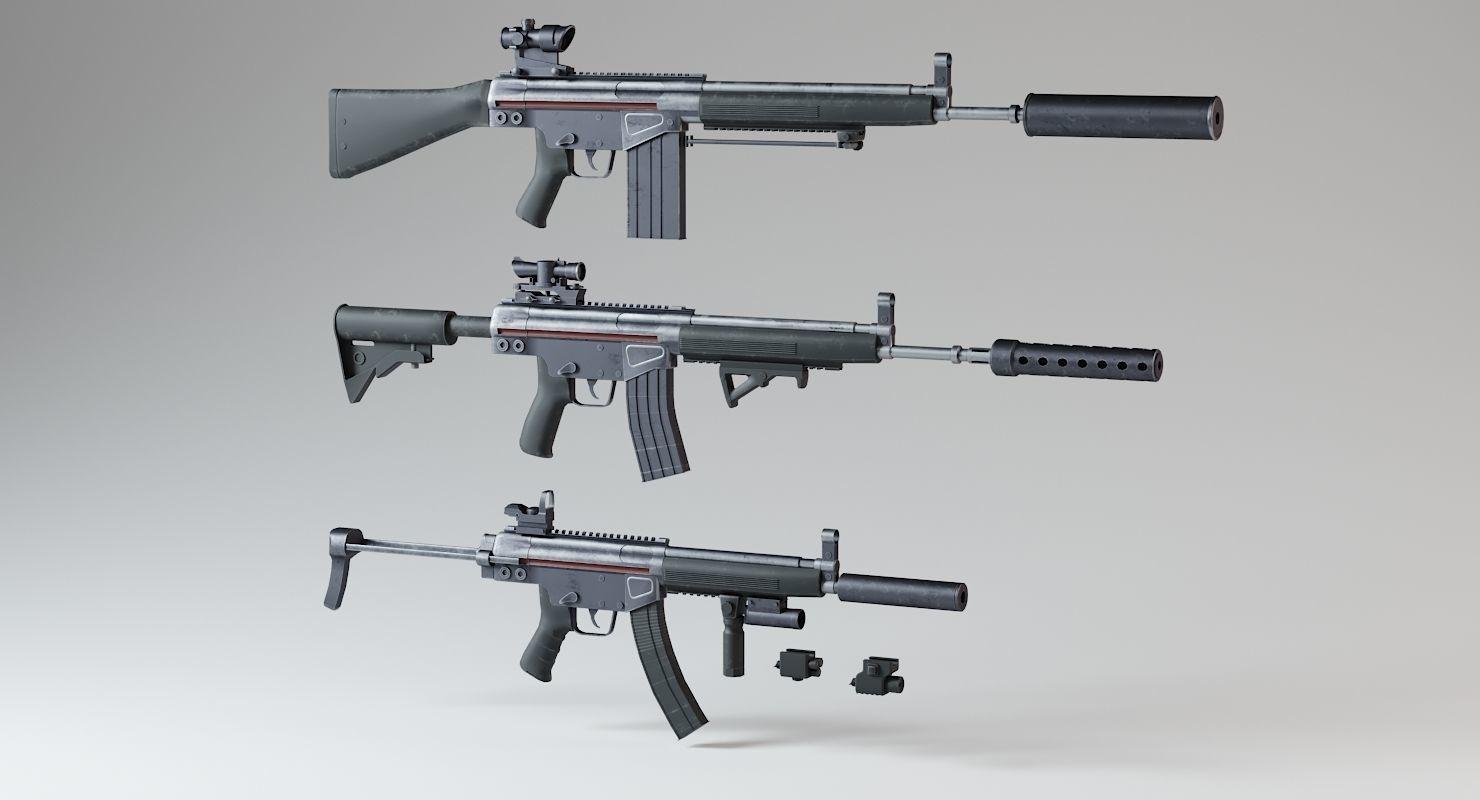 HK Rifles Kit