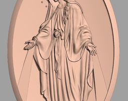 Christianity Jesus Christ CNC 3D relief model J22