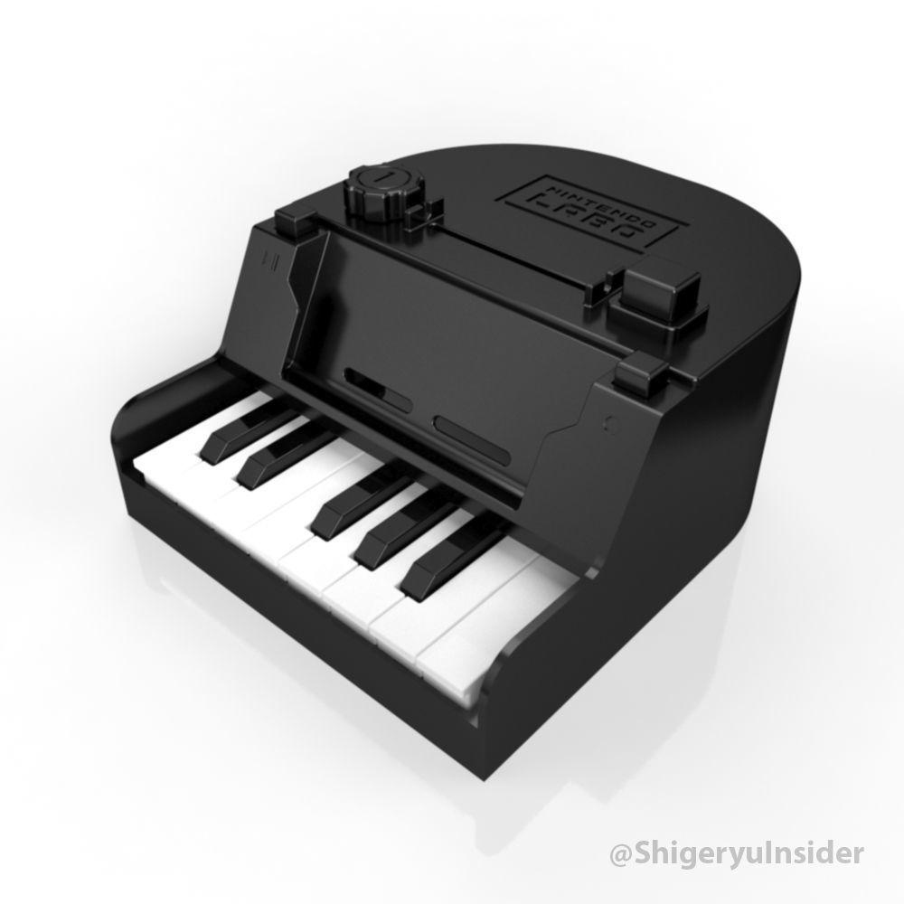 Nintendo labo Piano full and improvements