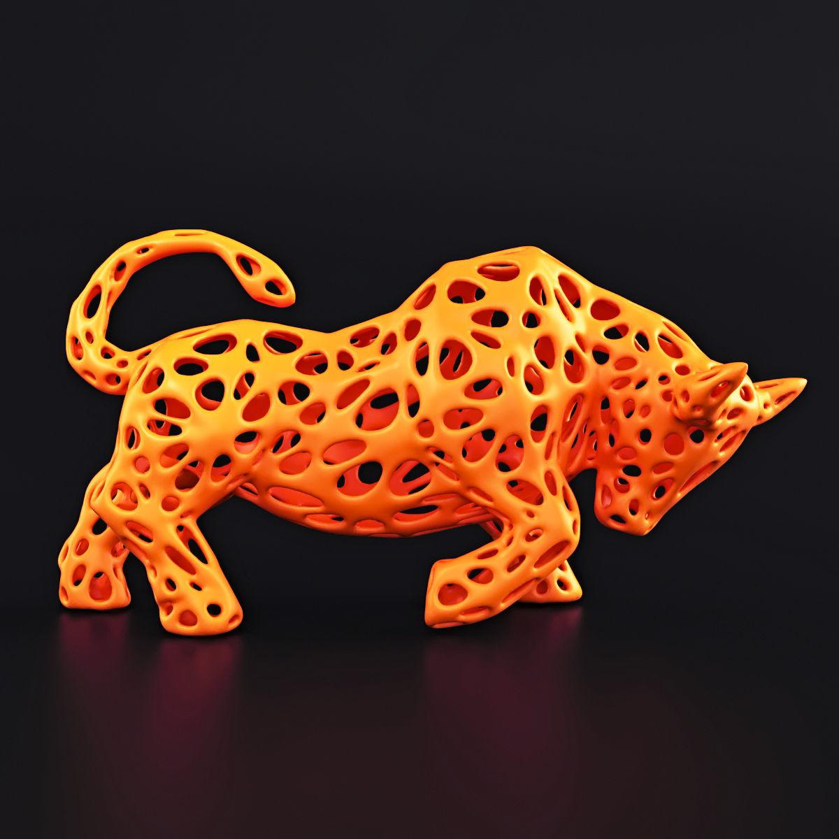 Bull Wireframe