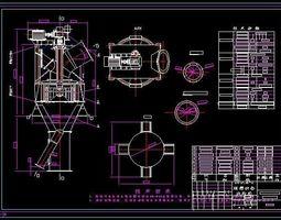 3D MS3200 dynamic coal mill separator