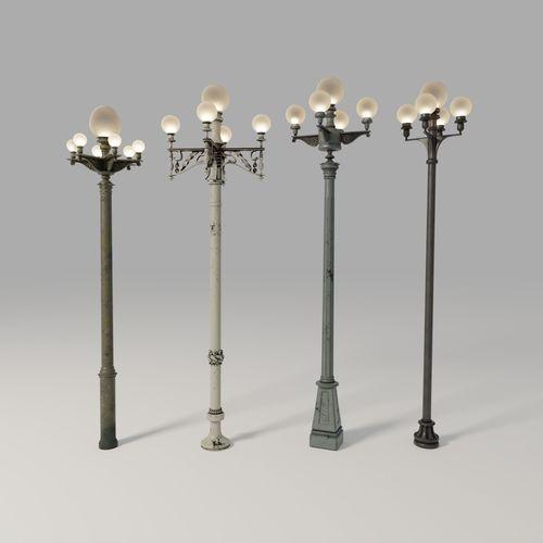 antique custom street acuity lamps lamp