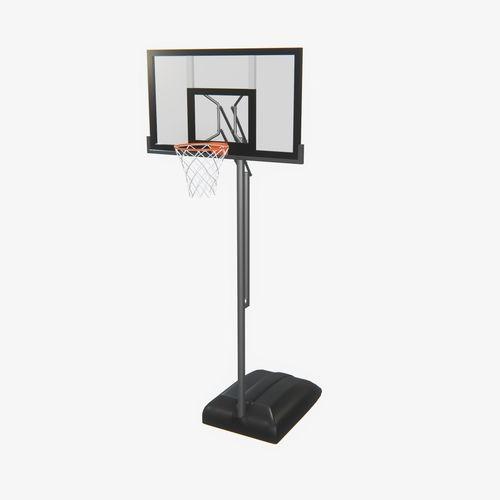 highly detailed basketball hoop pbr 3d model max obj mtl fbx unitypackage prefab uasset 1