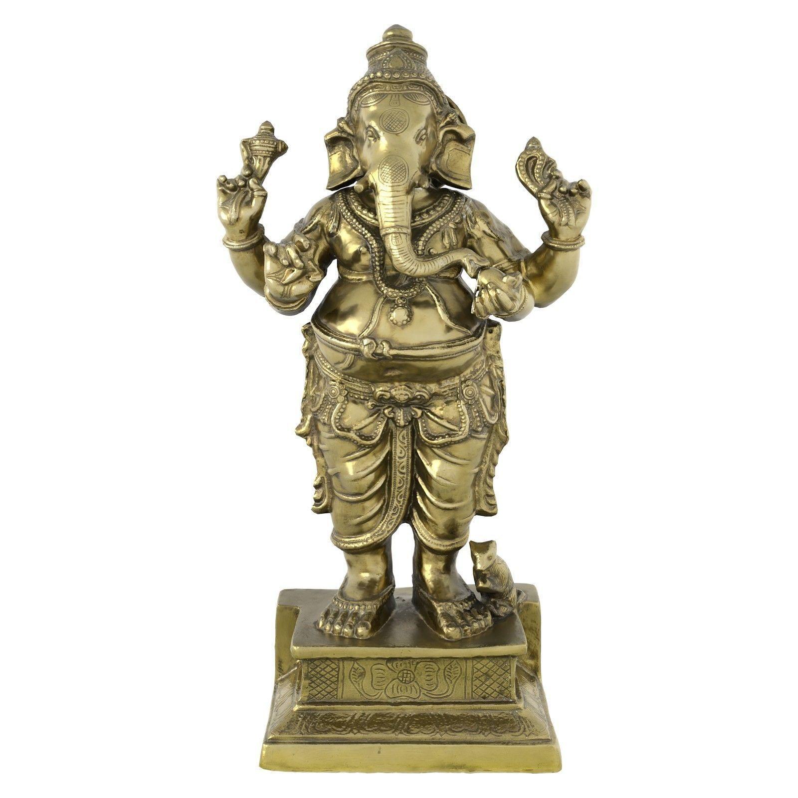 Ganesha Metal Statue
