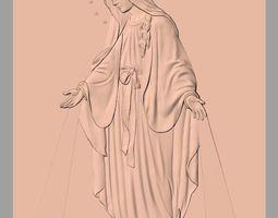 Christian Jesus 3D Relief model J5