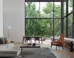 3d model livingroom