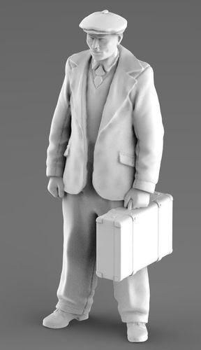 man citizen  3d model 3d model max obj mtl fbx stl 1
