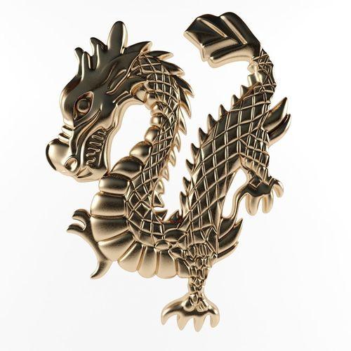 dragon cnc 3d model max obj mtl 3ds fbx stl 1