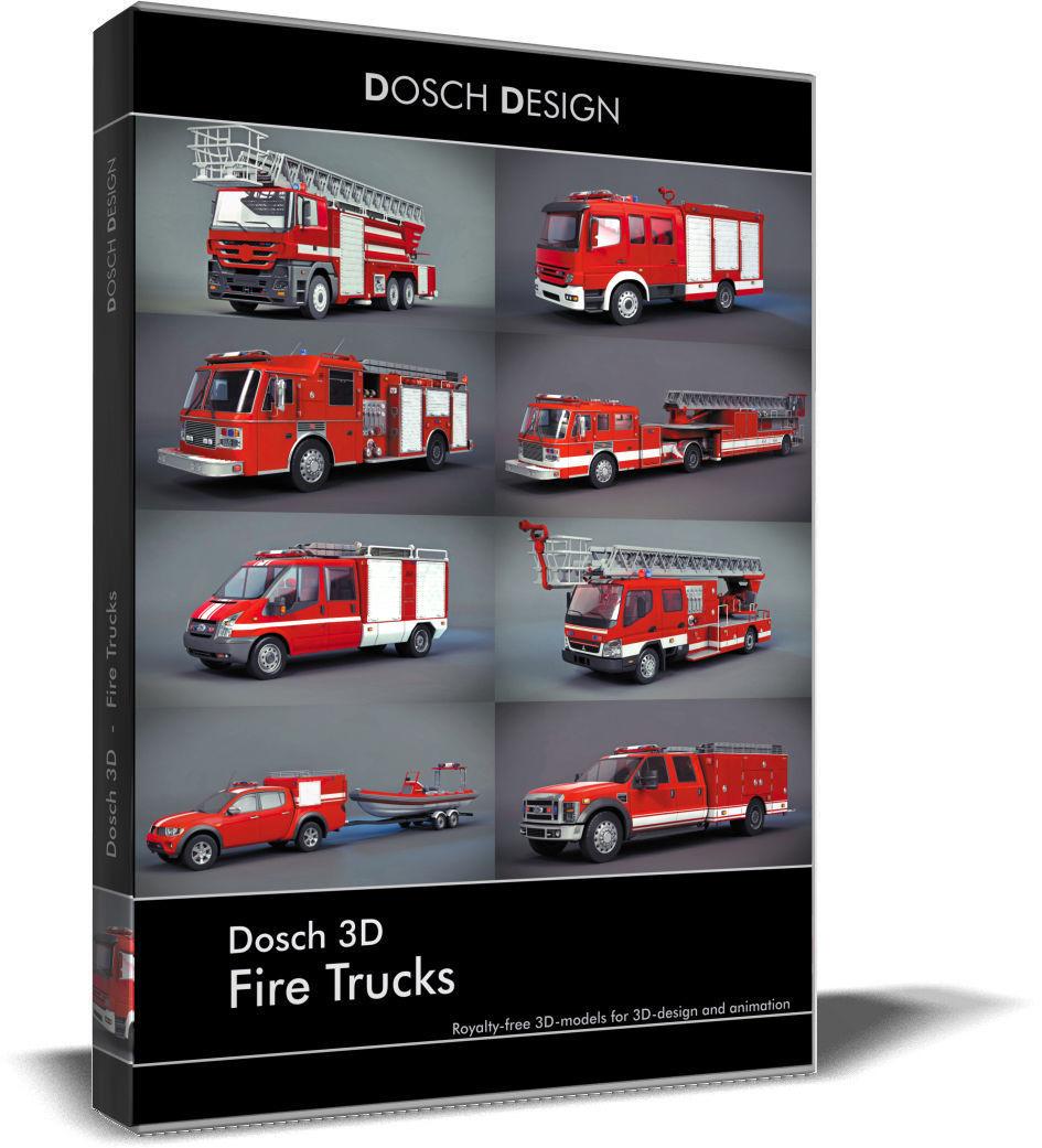 Dosch 3D - Fire Trucks