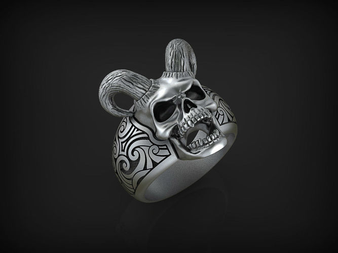 ring sea devil stl 3d model stl 1