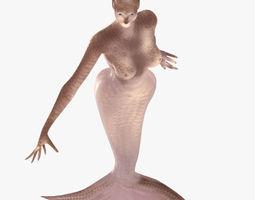 Mermaid 3D asset