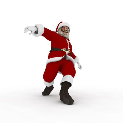 Dancing Santa Claus | 3D model
