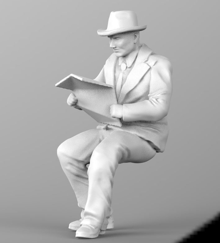 old man 3d model