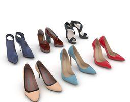 3D High Heels Women Shoes