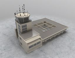 LYTV Control Tower 3D model