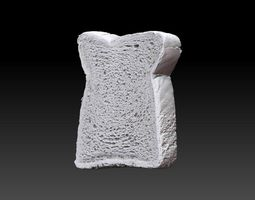 Bread Slice 3D Scan