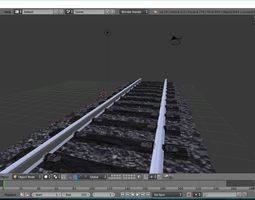 3D printable model Train Track