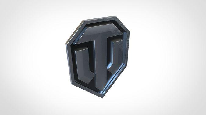 Logo world of tanks 3D model | 3D model