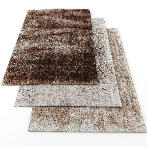 3D model Stepevi Touch me rugs | CGTrader