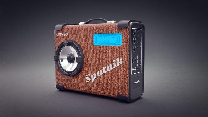 radio tape recorder 3d model blend 1