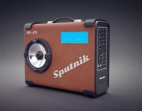 3D Radio tape recorder