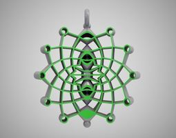 Space Age Necklace 3D printable model