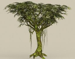 3D asset Game Ready Tree 24
