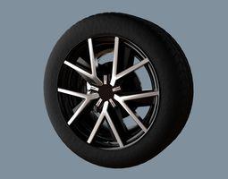 AS rims collection 1 - VW Braga 3D model