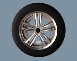 3D model AS rims collection 3 - VW Sebring