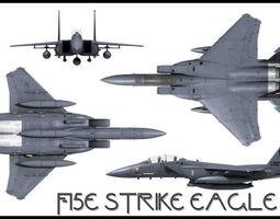 3D F-15E Strike Eagle