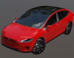game-ready Tesla Model X is a mid-sized all-electric 1