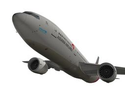 Boeing 777-200ER Asiana Airlines 3D model