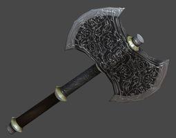 Battle ax1 3D model