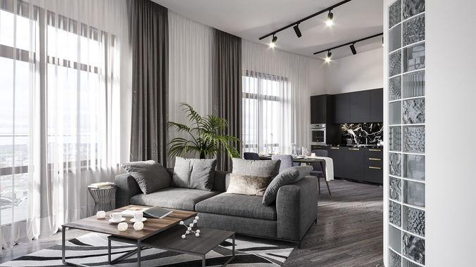 hotel room 3d model max 1