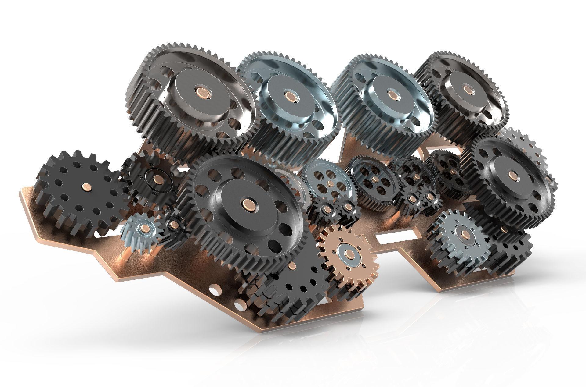 Gear mechanism v 1
