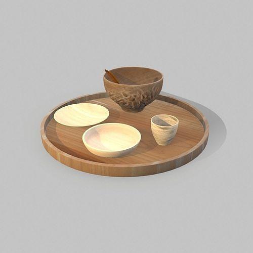 Stylish Wooden Trays