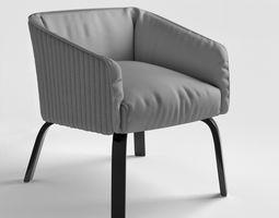 3D Lolita DIAMOND Meridiani armchair 2