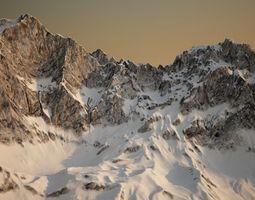 3D Precision mountain