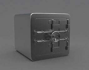 Safe box 3D model