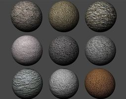 3D model Stucco Textures Pack 2