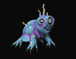 3D model Aquatic Alien