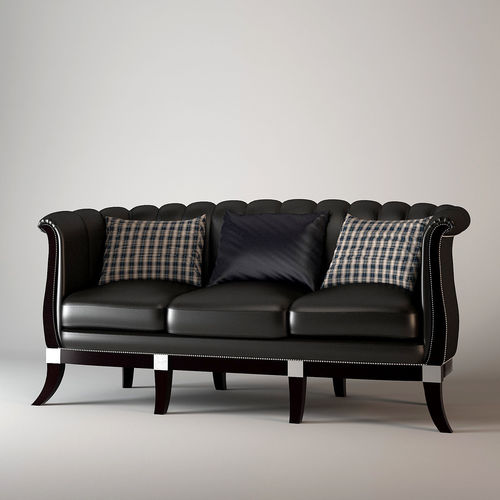 Mobilidea Brooklyn Sofa 3D Model