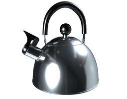 Steel kettle 3D