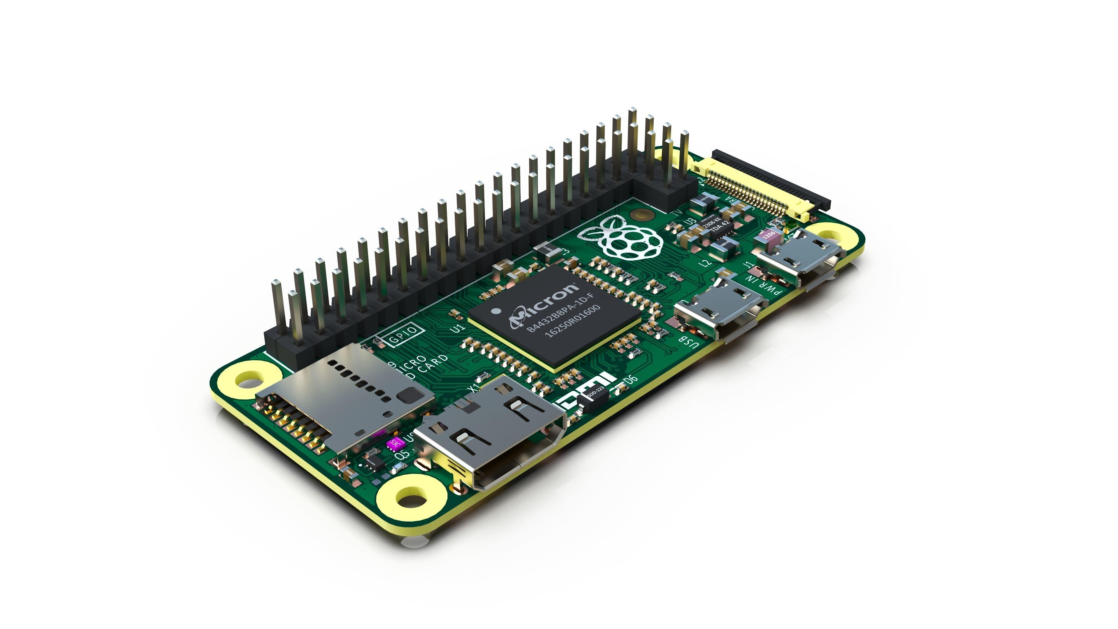 Raspberry Pi Zero - Reverse engineering