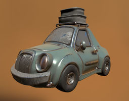 3D Cartoon Car Classic