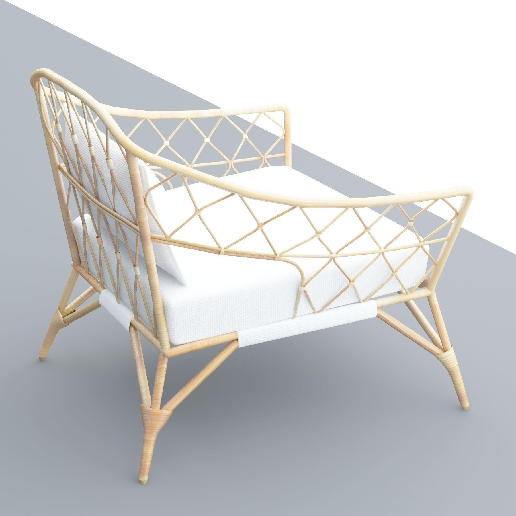 ... stockholm ikea rattan chair 3d model low-poly max obj mtl 3ds fbx dae skp ...  sc 1 st  CGTrader & StockHolm IKEA Rattan Chair 3D asset VR / AR ready