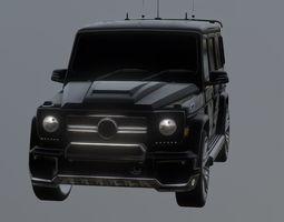 3D model Mercedes Benz Brabus G Series