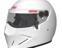 Simpson Diamondback - Stig Helmet 3D Model