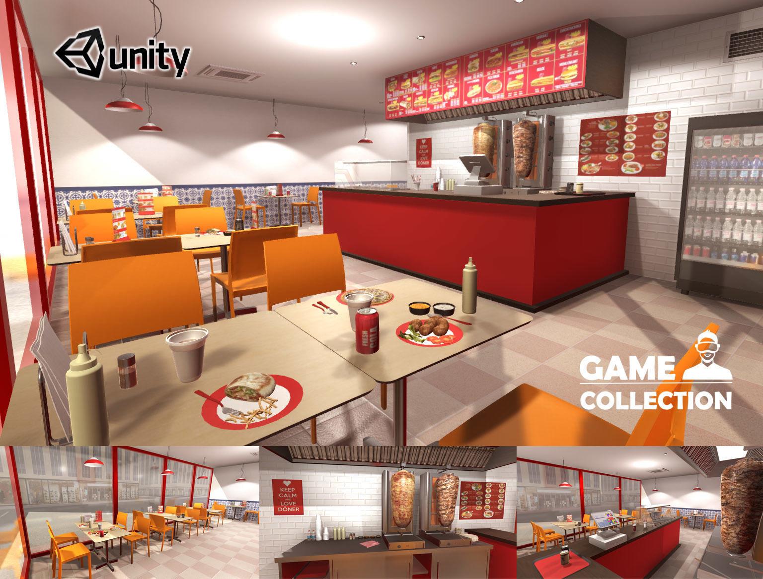 Kebab Restaurant Interior